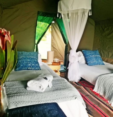 Glamping Tent - 15 tents available